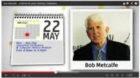 Bob Metcalfe - Ethernet 40 years Birthday Celebration